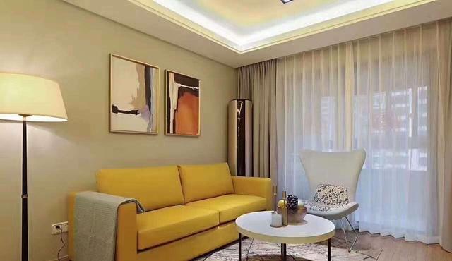 65平米小户型设计,浪漫温馨的美式情怀图片