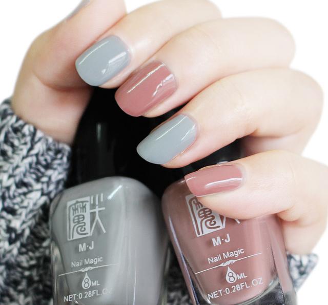 不去美甲店自己也能做出漂亮的指甲,喜欢最后一个,显白图片