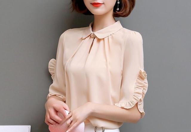 致3045岁女的大码女装不仅优雅有气质而且遮肉显瘦