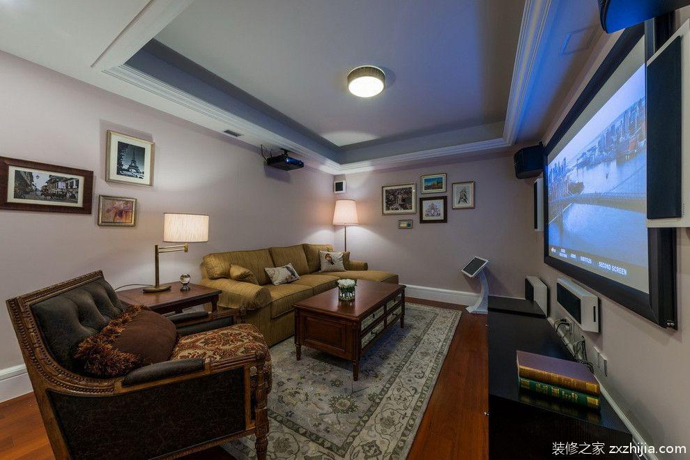 古典欧式四室两厅客厅吊顶效果图_装修之家装修效果图图片
