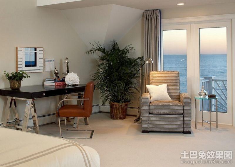 卧室兼书房装修效果图大全2013图片 高清图片