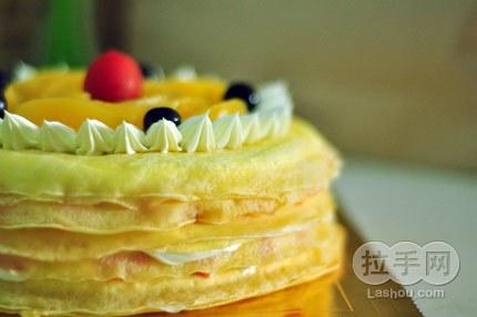 【菠萝千层蛋糕】图片