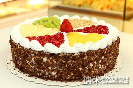 8英寸欧式水果蛋糕