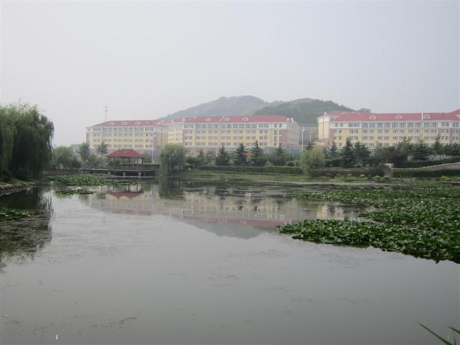 中国海洋大学人工湖图片图片