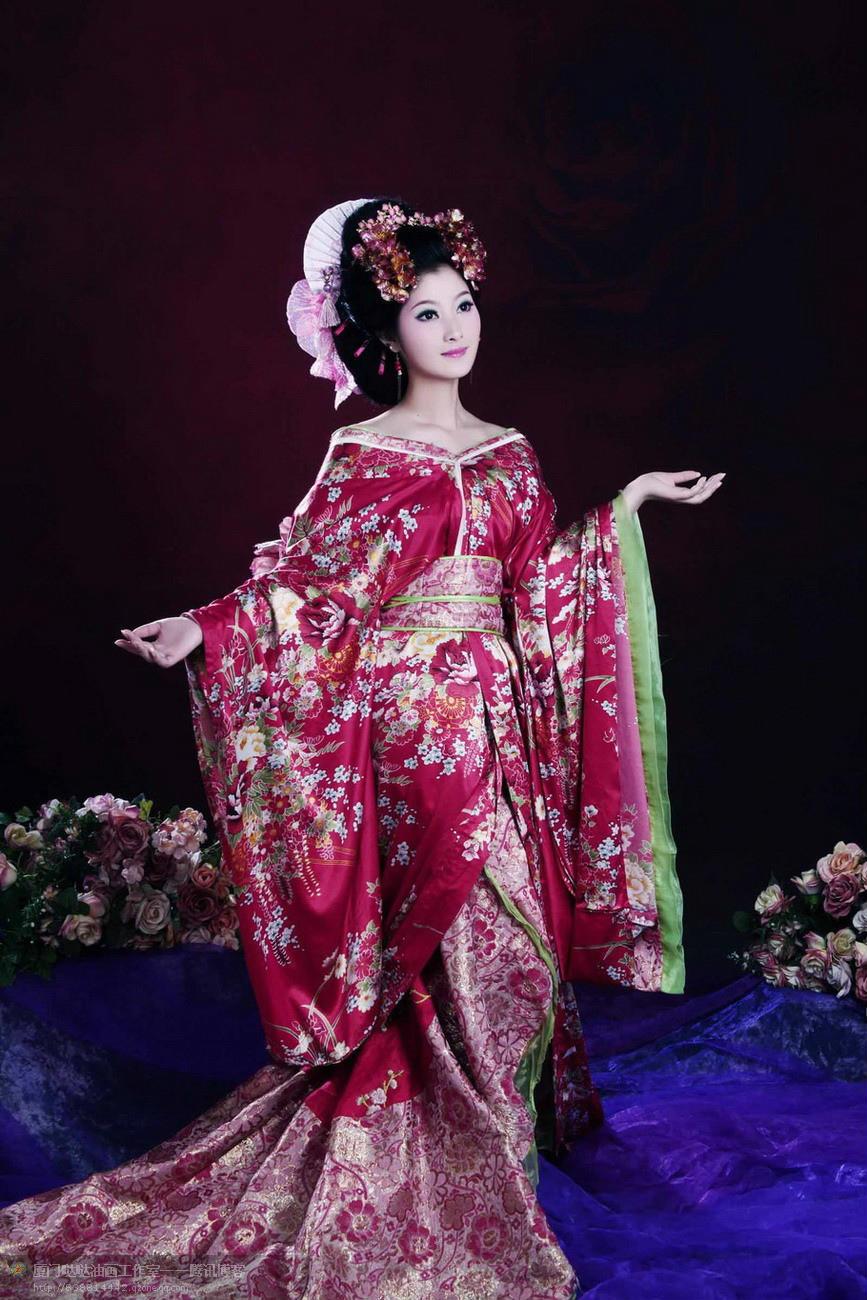 中国古装美女素材 泛滥不堪A年华