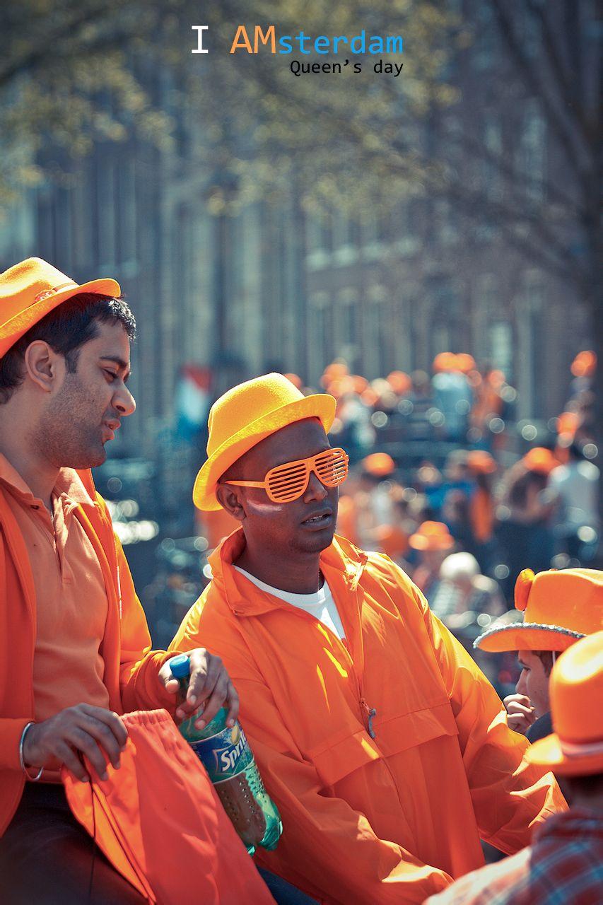 全城狂欢 荷兰女王节图片