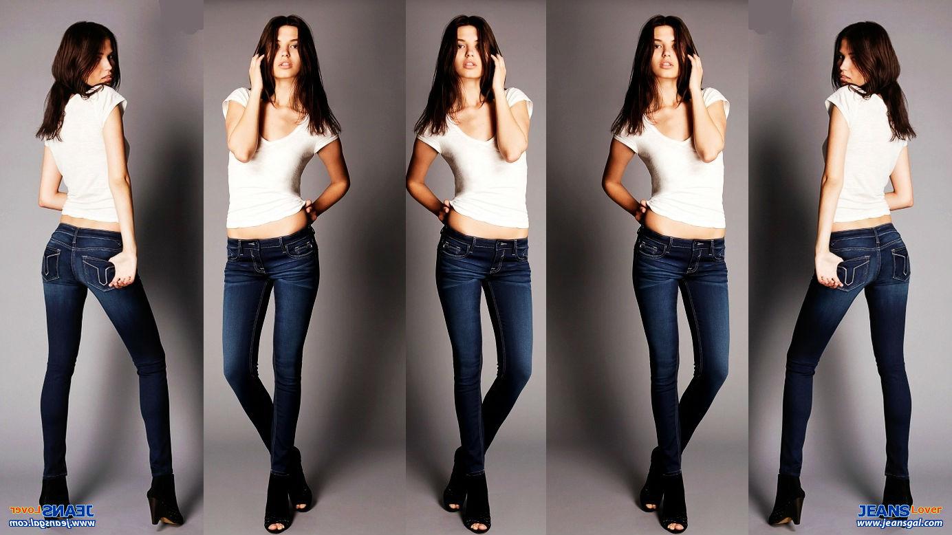 壁纸 全是紧身牛仔裤美女