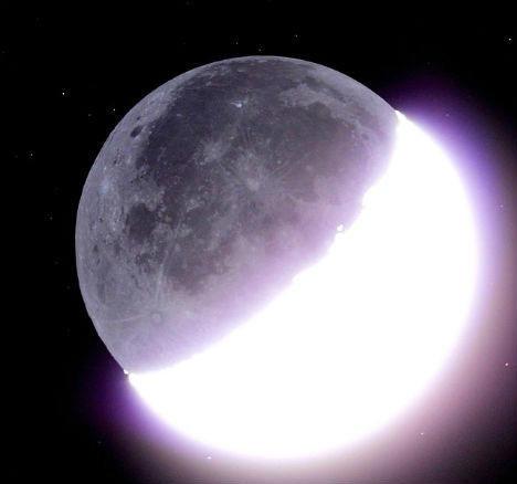 中秋节月亮的变化