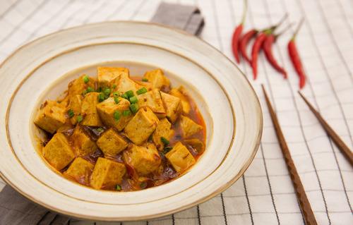 家庭版麻婆豆腐,麻、辣、烫、香、酥、嫩、鲜、活通通有!