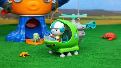 海底小纵队 水路两栖救援直升机 海底世界 海底小纵队玩具