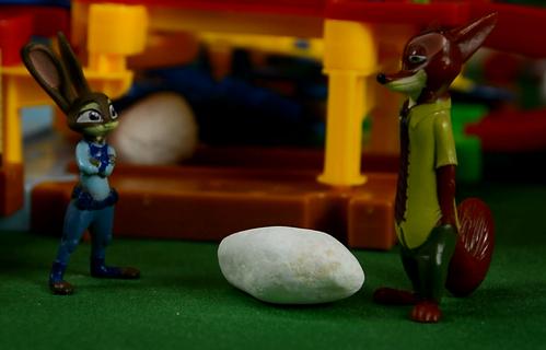 初见尼克,疯狂动物城,安迪尼克,阿紫玩具