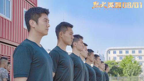 电影《烈火英雄》训练特辑 黄晓明杜江体验真实消防特训100天
