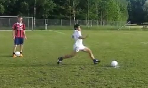 踢足球需要勇气之——作死爆头集锦
