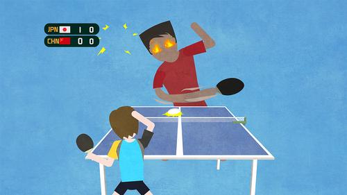 【飞碟头条】乒乓球,无敌到寂寞是怎样一种体验!