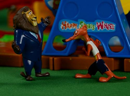 霸道的狮市长,疯狂动物城,安迪尼克,阿紫玩具