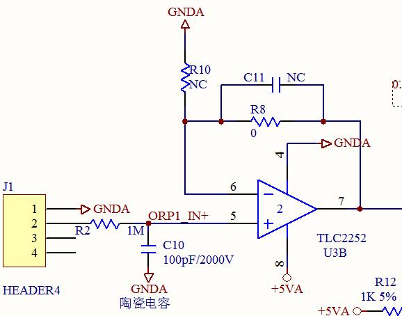 常用电压跟随器芯片_探头的信号输入量又很小,怎样加偏置电压才能让负电压信号通过跟随器