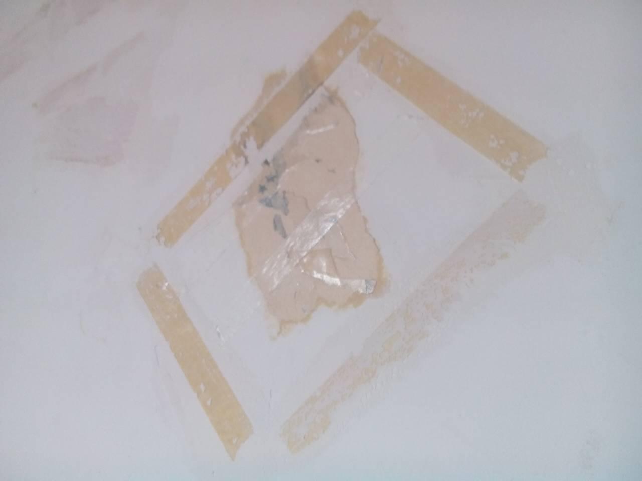 如何去除墙壁上残留的双面胶的污渍(已经发黄,硬了,拨