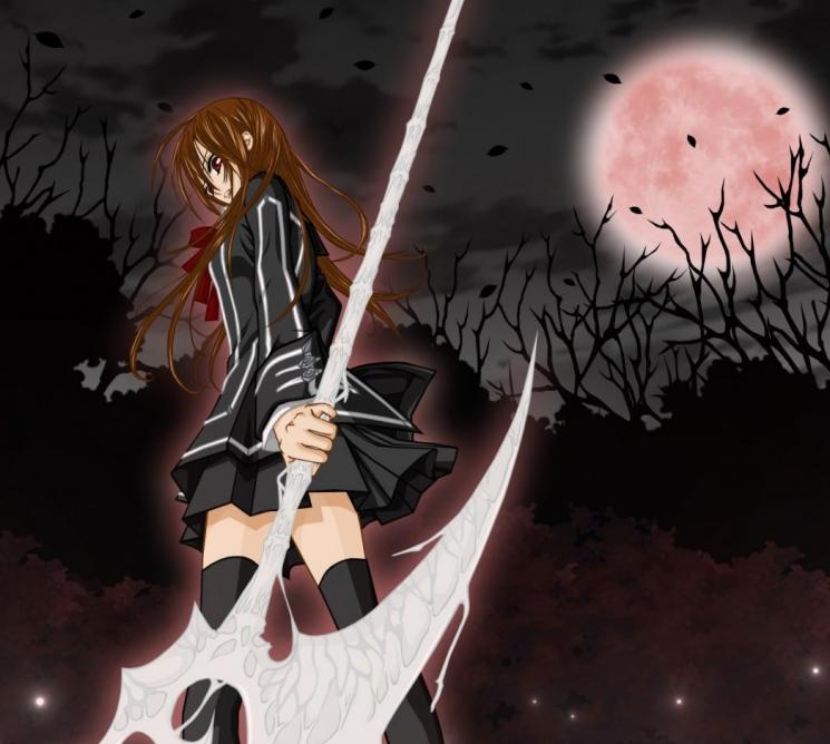 日本动漫《吸血鬼骑士》中的女主角
