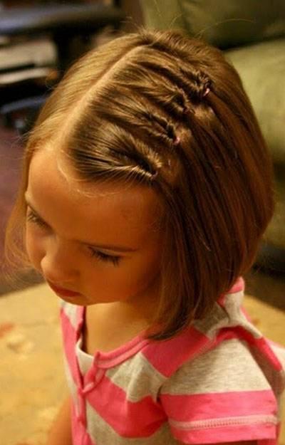 十岁女孩扎什么头发好看?图片