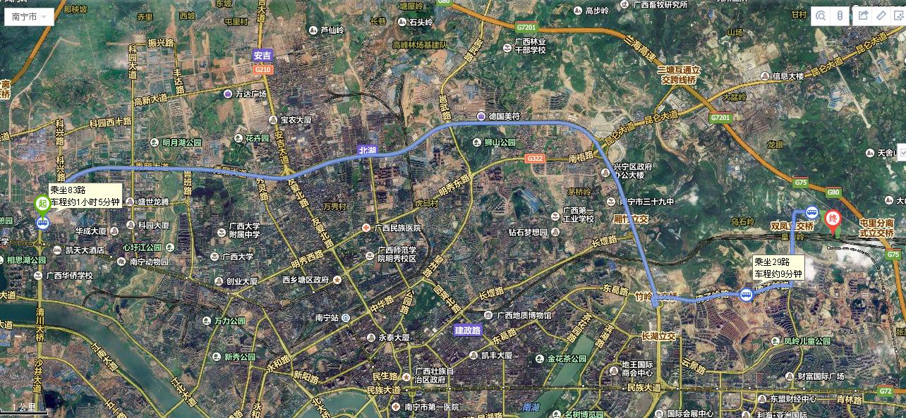 重庆到光雹llz!�jnk�_广西南宁83路公交车从秀厢天雹路口到南宁火车东站北要多久