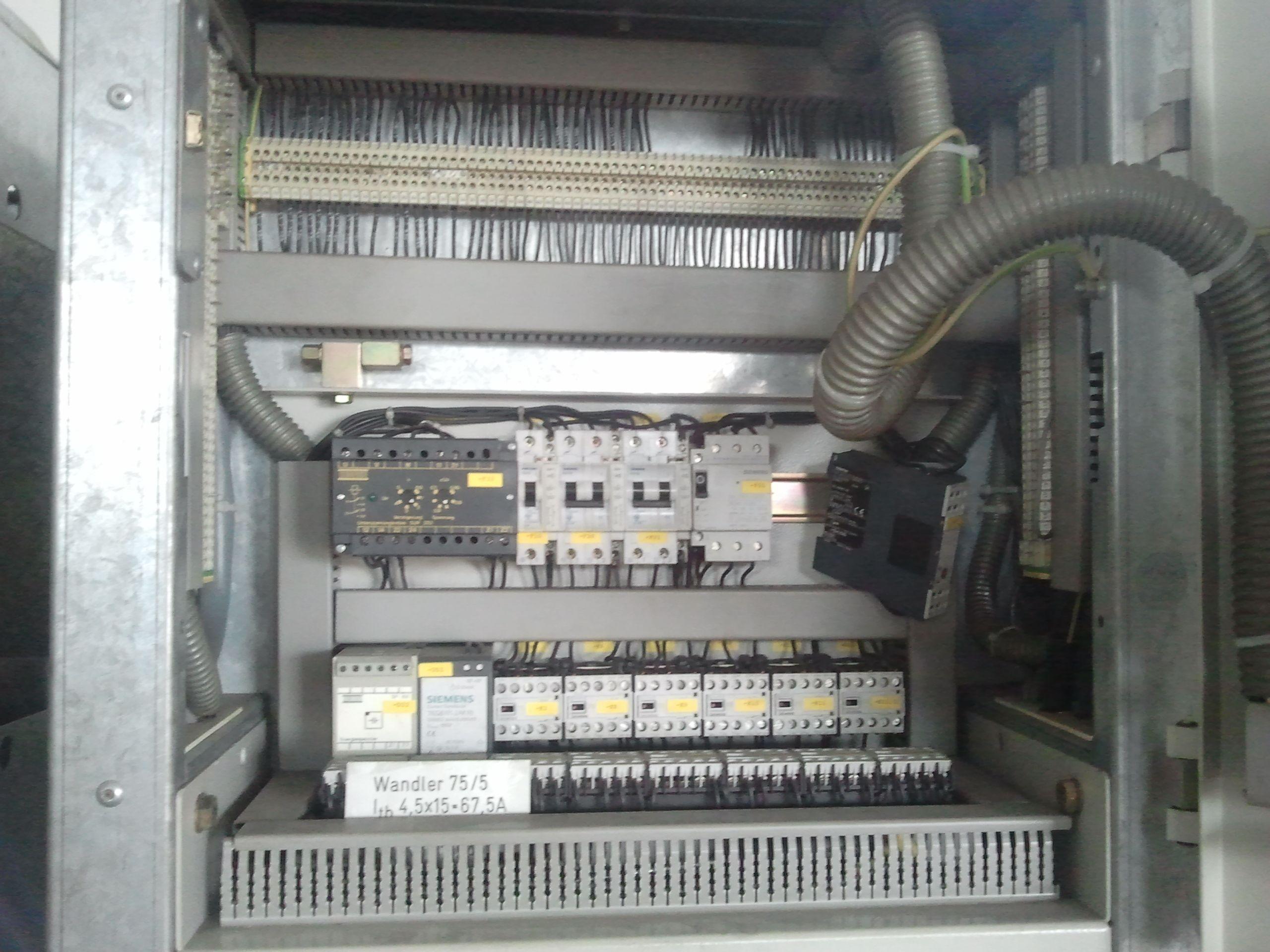 高压开关柜接线图, 原理图.-高压配电柜电路图图片大全 配电柜电路图