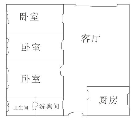 室内设计十乘十一百平方米的房子设计三室一厅图片