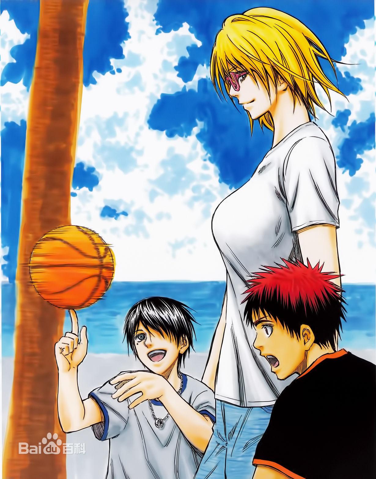 黑子的篮球19集预告里的那个金发女是谁