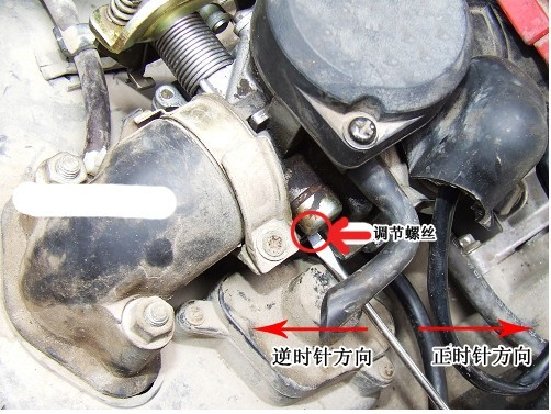 换和喷头,火花塞,汽油泵都不行,是不是还得换节气阀?图片