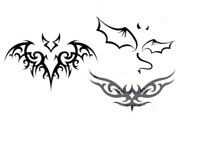 我要纹个蝙蝠在手指上当戒指~求蝙蝠纹身图案图片