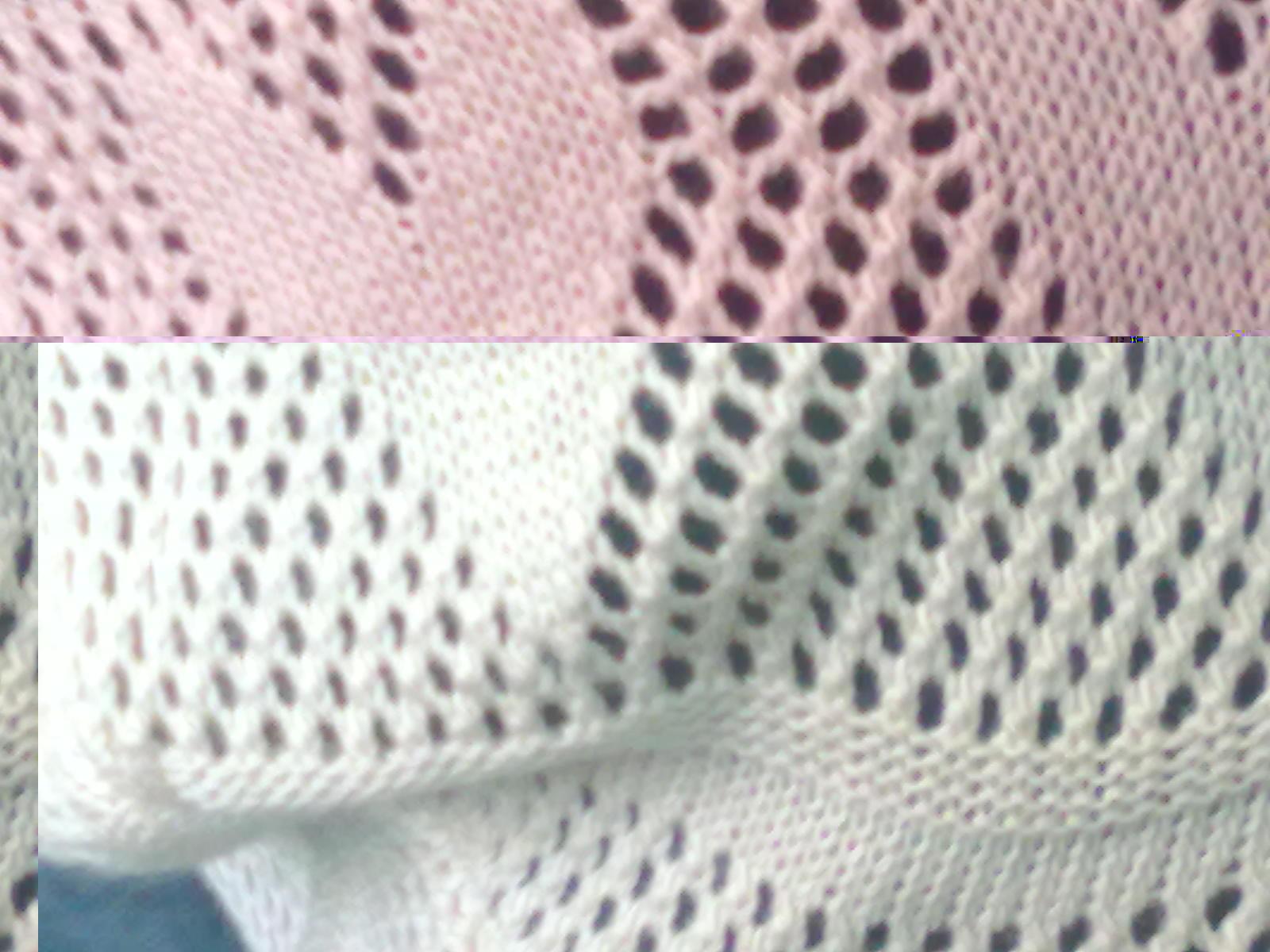 这种心形花样的织法,用来织围巾什么的图片