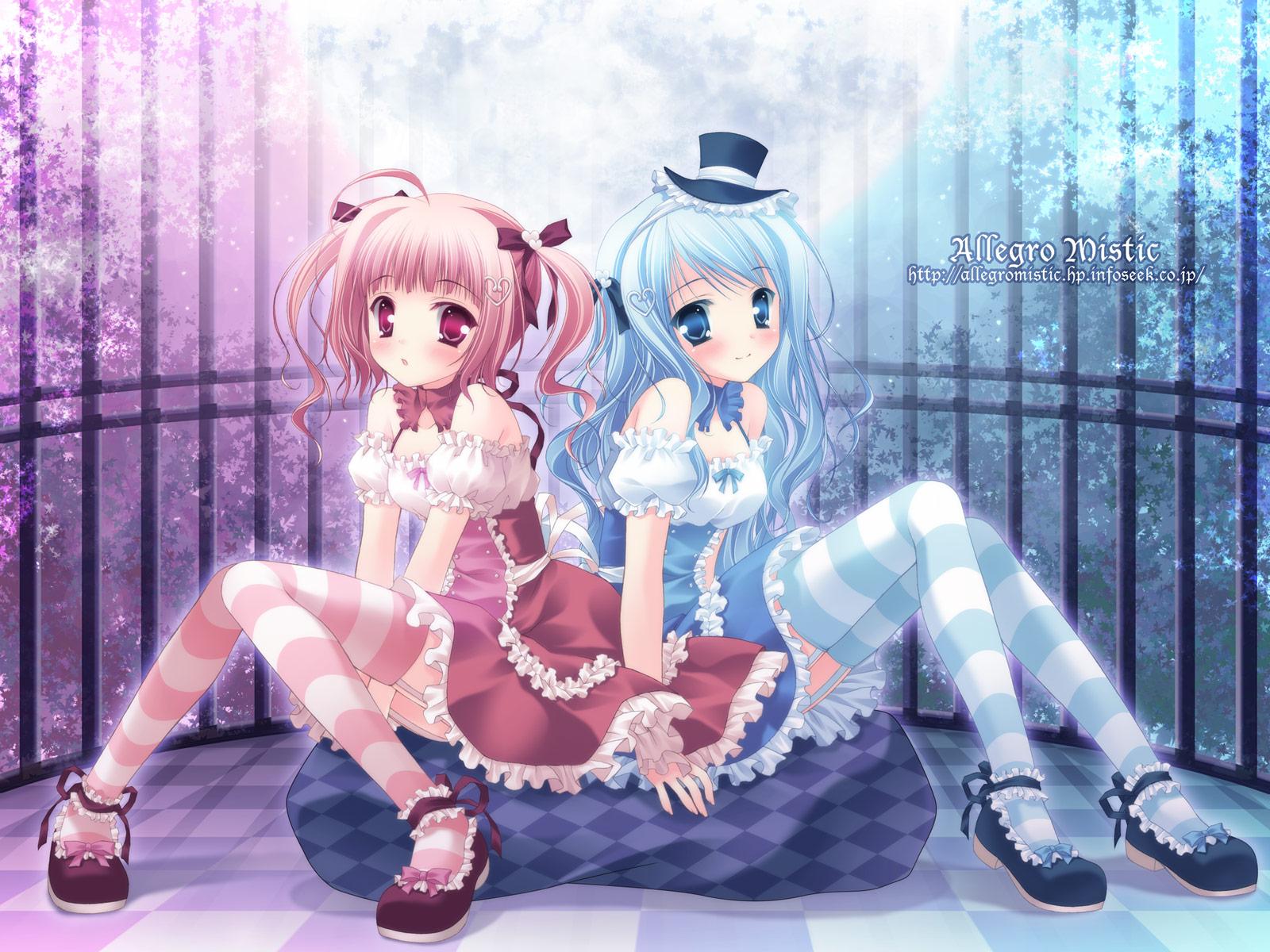 日本动画少女图片 谢谢
