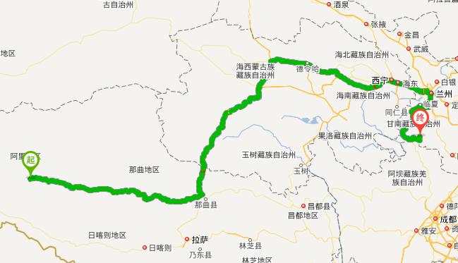 西宁到扎尕那多少公里