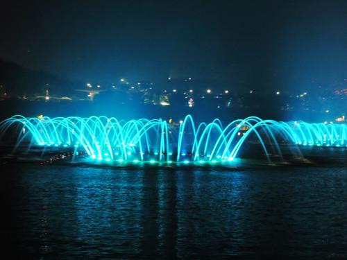 青岛世博园音乐喷泉