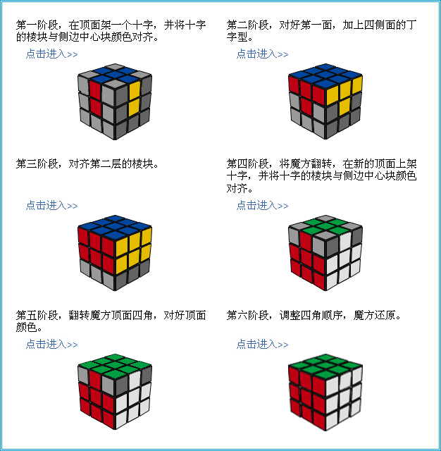 四阶魔方公式图解视频 图片 四阶魔方公式图解视频 三阶镜面魔方公式图片