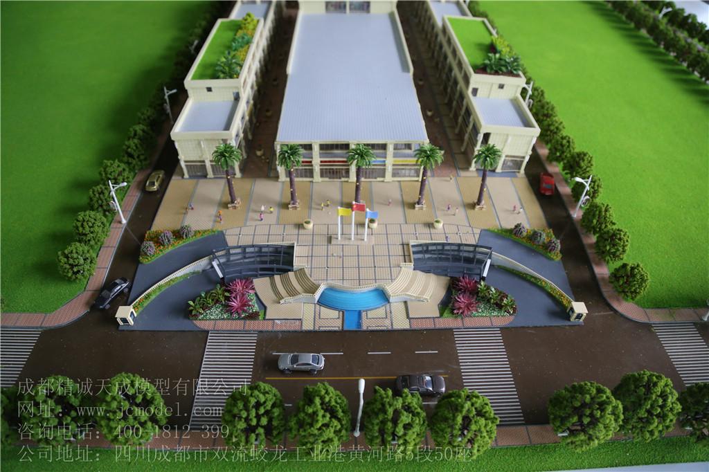设计模型的建筑物做法规划设计模型的建筑物,一般是以泡沫塑料块为图片