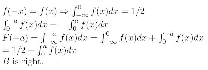 已知随机变量x的概率密度f(x)