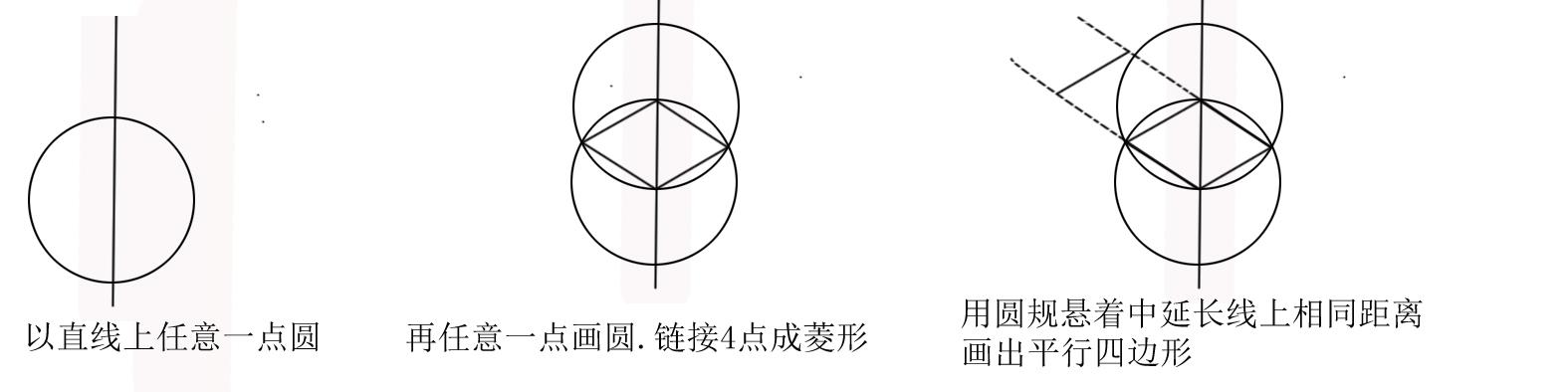怎么用直尺和圆规作出圆中的内接正三角形和六等分点图片