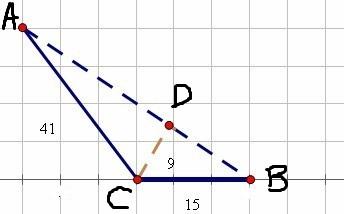 钝角三角形底边怎么算图片