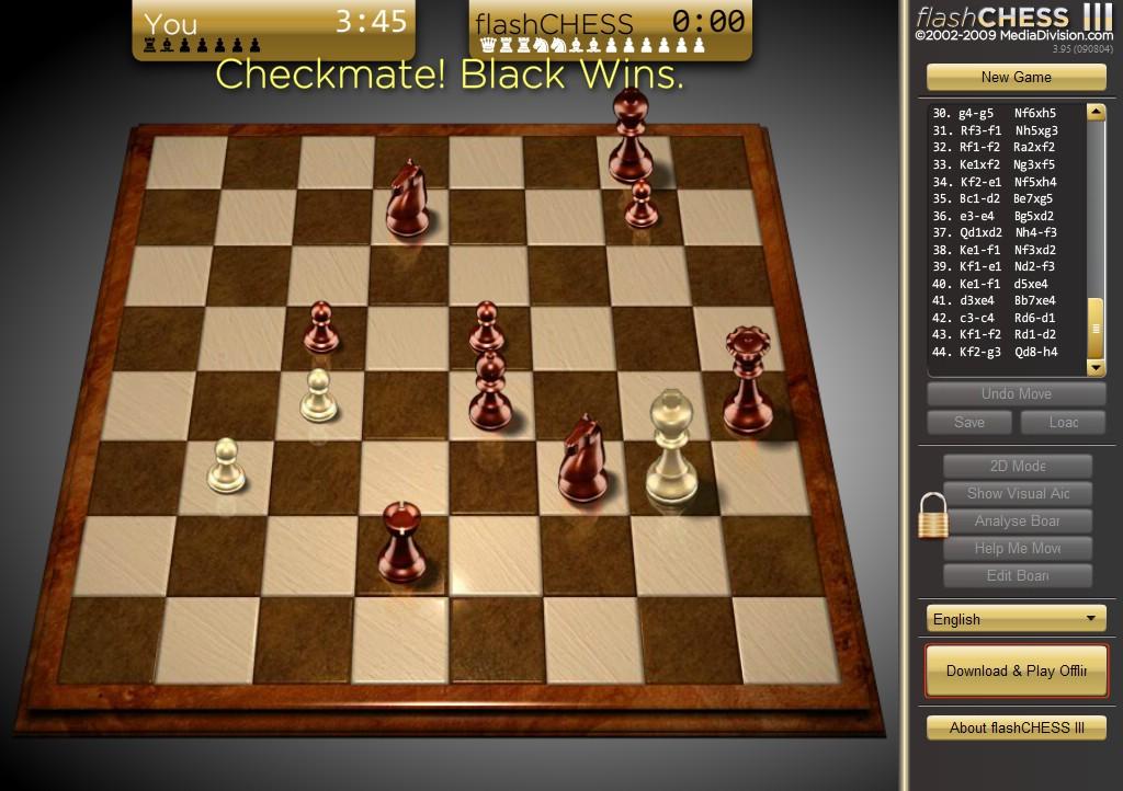 国际象棋将军图片