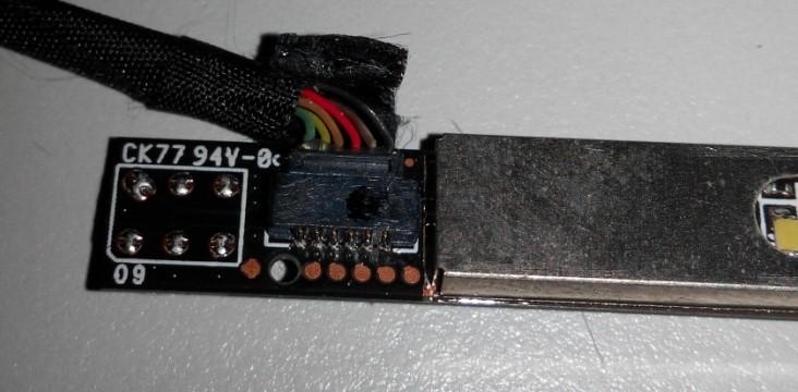 笔记本摄像头怎么拆_hp笔记本摄像头模块接线问题