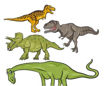 恐龙化石有哪些种类