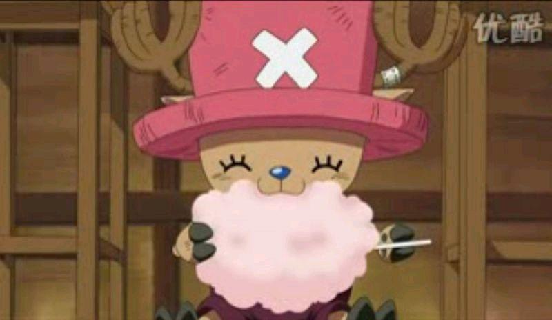 海贼王 乔巴帽子遮眼睛的图片图片