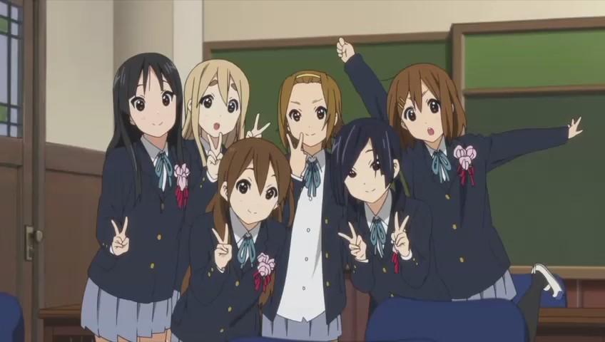 动漫闺蜜图 六个人在一张图里的图片