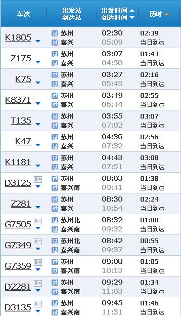 苏州到西塘高铁多少钱
