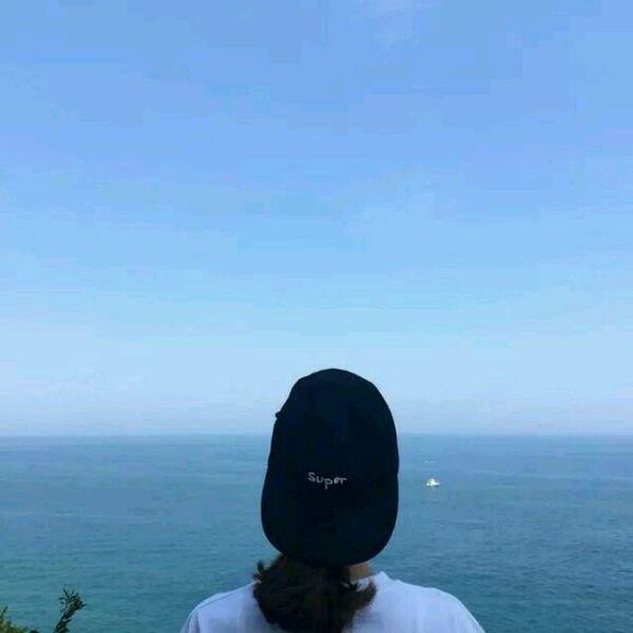 看海边情侣头像图片