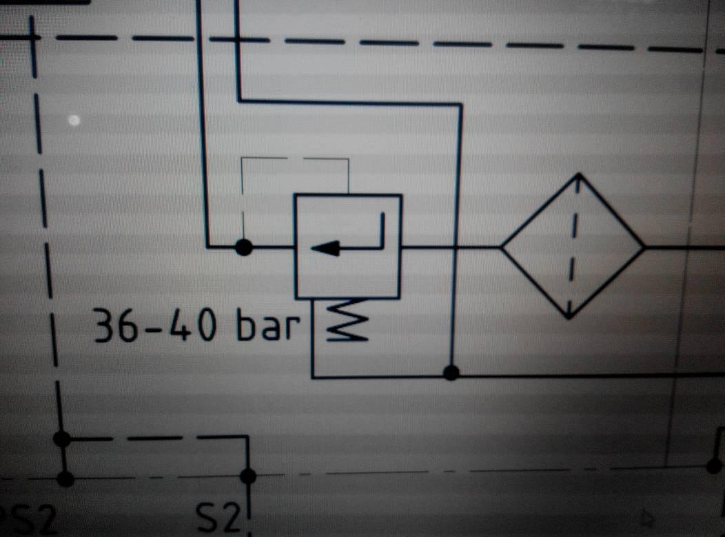 液压系统原理图中这个符号表示什么?