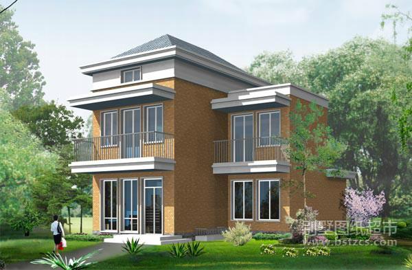 求一份农村90平米三层房屋设计图