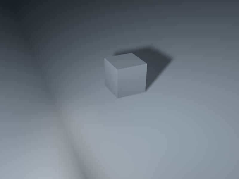 用ps做一个带光影的正方体建筑设计考研专业书图片