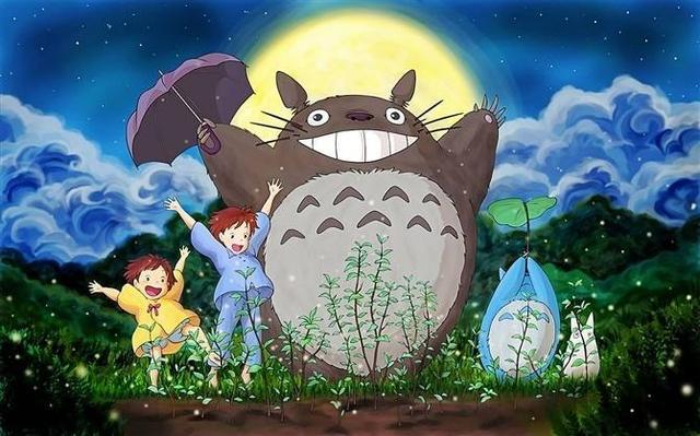 宫崎骏的《龙猫》又叫邻家的豆豆龙或者隔壁的特特罗.