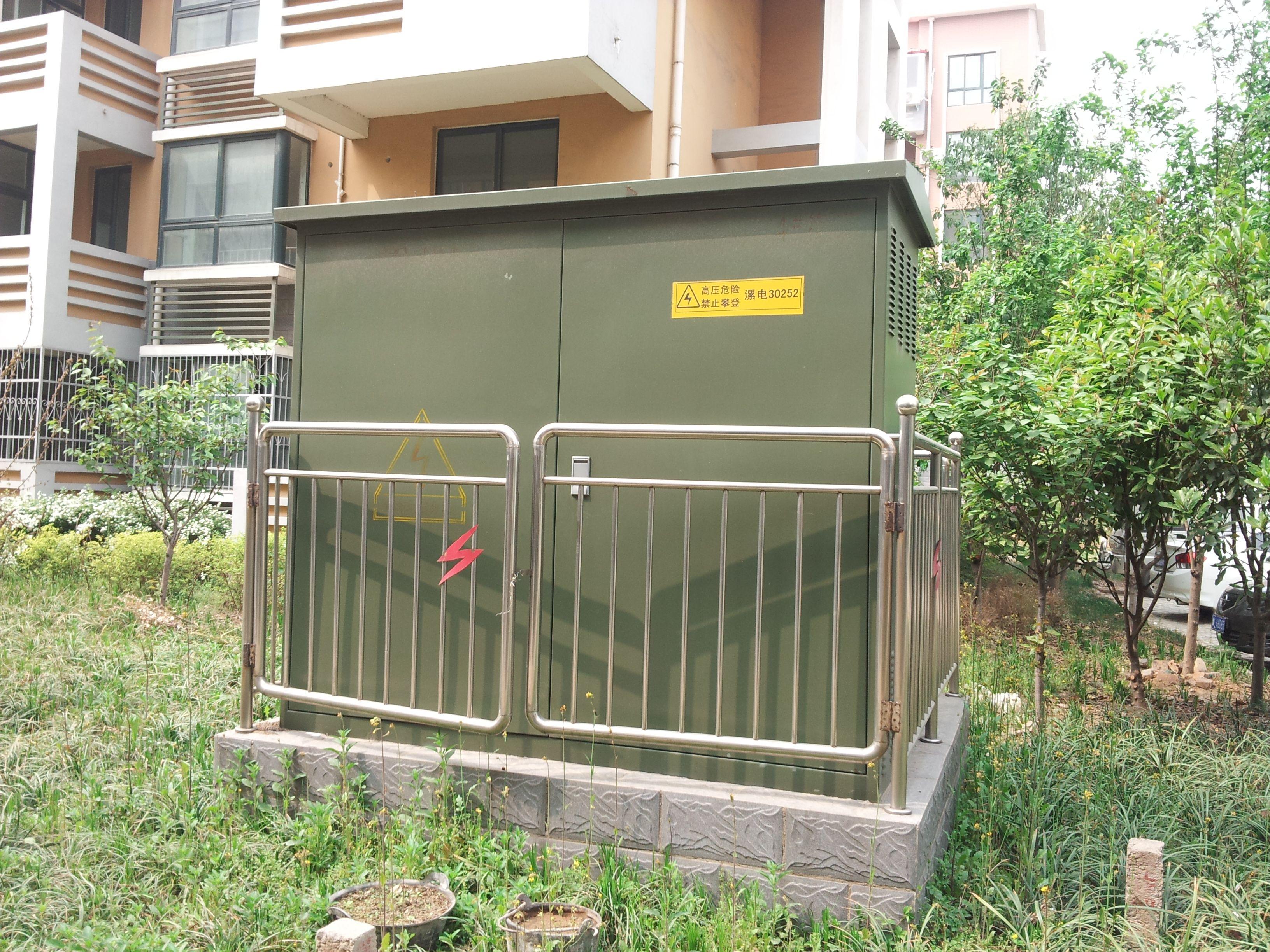 什么是箱式变电站?图片